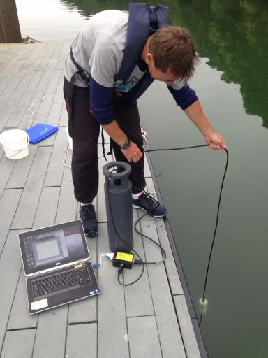 Turbidity Measurement at Fal