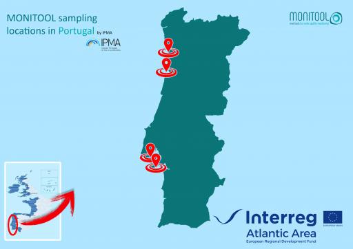 IPMA sampling areas