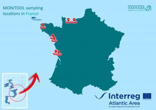 IFREMER sampling locations