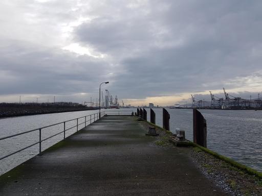 Belfast site samplig point