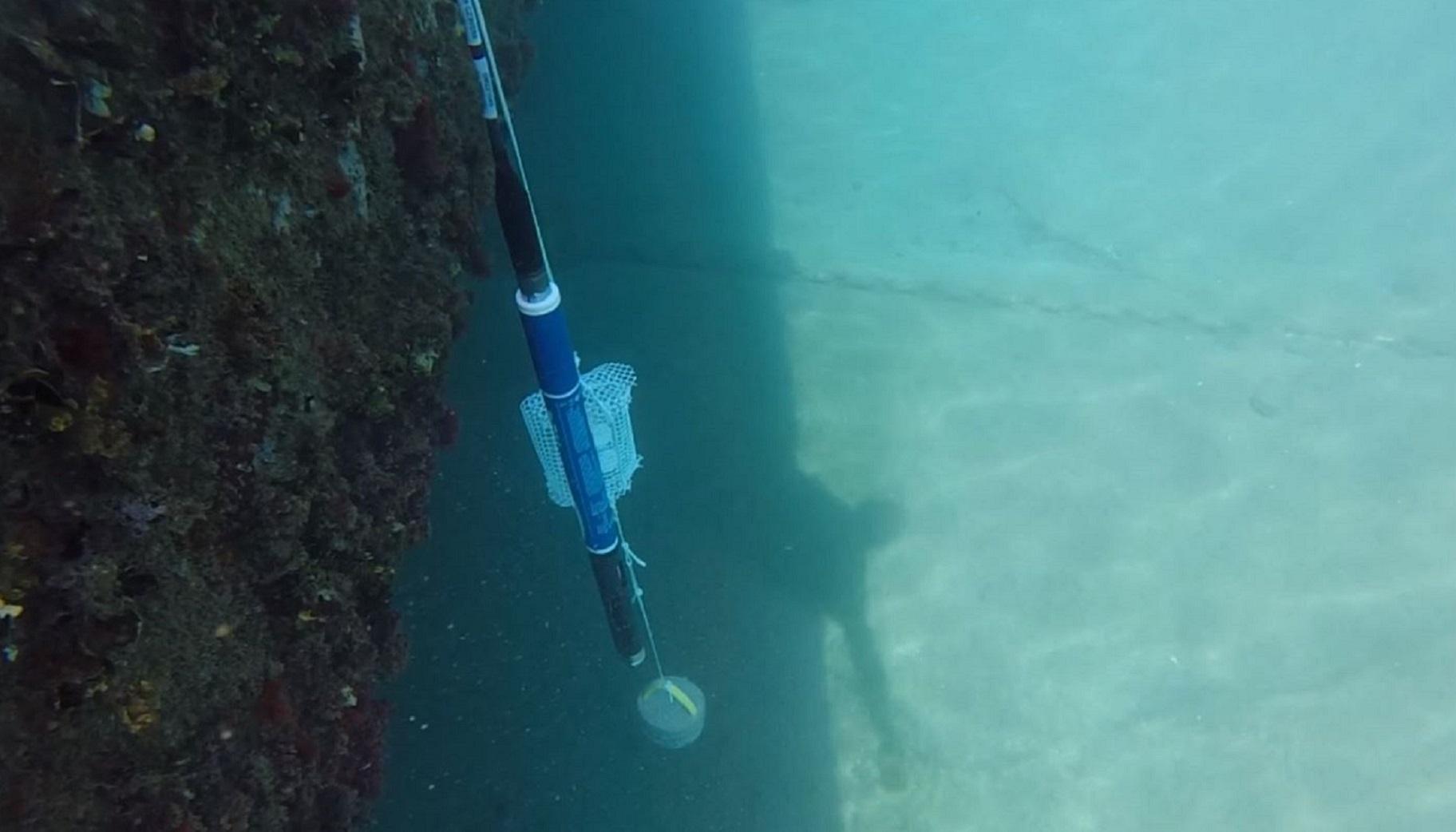 DGTs and sensor equipment underwater